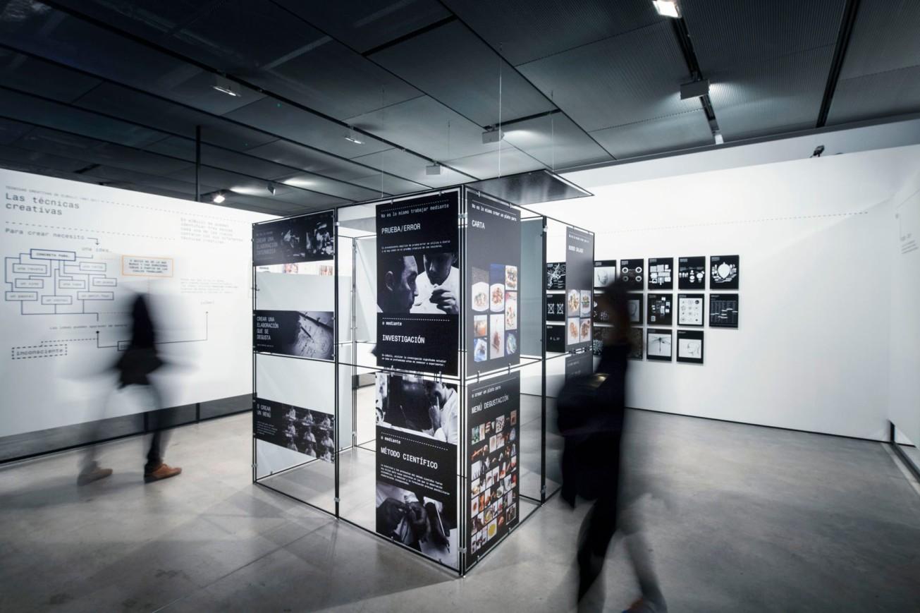 Gunnar Knechtel Photography, Barcelona, exposición 'Auditando el proceso creativo' de Ferran Adriá en Fundación Telefónica , Madrid. Fotografiada el 16.12.2014
